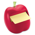 Post-it Pop-up Notes Apple-Shaped Dispenser for 3 x 3 Self-Stick Pads, Red Product Image