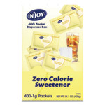 N'Joy Yellow Sucralose Zero Calorie Sweetener Packets, 0.04 oz Packet, 400 Packets/Box Product Image