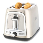 Oster Extra Wide Slot Toaster, 2-Slice, 7.5 x 11 x 8, Stainless Steel Product Image