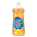 Joy Ultra Orange Dishwashing Liquid, Orange, 30 oz Bottle, 10/Carton Product Image