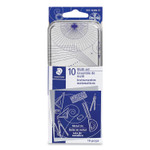 Staedtler Xcellence Mathematical Instrument Set, Plastic, Clear/Blue Product Image
