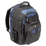 "Targus XL Laptop Backpack 17"", Black/Blue Product Image"