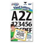 """ArtSkills Poster and Bulletin Board Vinyl Letters and Numbers, Black, 1"""" and 2"""" h, 250/Pack Product Image"""
