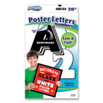 """ArtSkills Black and White Poster Letters and Numbers, 10"""" h, 310/Pack Product Image"""