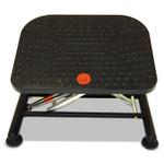 Alera Active Pneumatic Footrest, 20w x 14.5d x 17.25h, Black Product Image