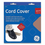 """GE Power Gear Cord Cover, 2.5"""" x 10 ft, Tan Product Image"""