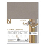 Neenah Paper Creative Collection Premium Cardstock, 65 lb, 8.5 x 11, Assorted Naturals, 50/Pack Product Image