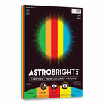Astrobrights Color Cardstock, 65 lb, 8.5 x 11, Assorted Primary Colors, 50/Pack Product Image