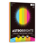 Astrobrights Color Cardstock, 65 lb, 8.5 x 11, Assorted Bright Colors, 50/Pack Product Image