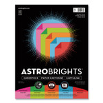 Astrobrights Double-Color Card Stock, 70lb, Assorted Colors, 8.5 x 11, 80/Pack Product Image
