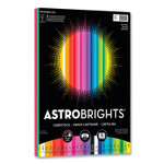 Astrobrights Color Cardstock, 65 lb, 8.5 x 11, Assorted Spectrum Colors, 75/Pack Product Image