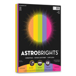 Astrobrights Color Cardstock, 65 lb, 8.5 x 11, Assorted Happy Colors, 50/Pack Product Image