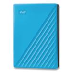 WD MY PASSPORT External Hard Drive, 4 TB, USB 3.2, Sky Blue Product Image
