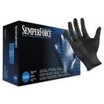 SemperForce Gloves, Black, Large, 1000/Carton Product Image