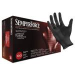 SemperForce Gloves, Black, Medium, 1000/Carton Product Image