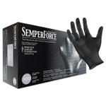 SemperForce Gloves, Black, X-Large, 1000/Carton Product Image