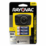 Rayovac Virtually Indestructible LED Headlight, 3 AAA Batteries (Included), 136 m Projection, Black Product Image