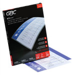 """GBC EZUse Thermal Laminating Pouches, 3 mil, 9"""" x 11.5"""", Gloss Clear, 100/Box Product Image"""