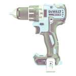 DeWalt 20V MAX* XR Li-Ion Brushless Compact Drill/Driver, 1/2 in Chuck, Metal Ratcheting Product Image
