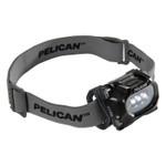 Pelican LED Headlights, 3 Batteries, AAA, 17/33 Lumens, Black Product Image