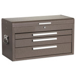 Kennedy Signature Series 3-Drawer 26 in Mechanic's Chests,26 1/8 x 14 3/4 x 12 1/8,Brown Product Image
