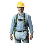 Honeywell DuraFlex Stretchable Harness, Back D-Ring, Universal, Green Product Image