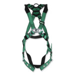 MSA V-FORM Full-Body Harness, Standard, Back and Hip D-Rings, Tongue Buckle Leg Straps Product Image