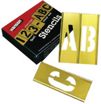 C.H. Hanson 15 Piece Single Number Sets, Brass, 1 in Product Image