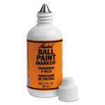 Markal Ball Paint Marker Markers, 1/8 in Tip, Metal Ball Point, Orange Product Image