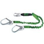 Honeywell StretchStop Lanyards with SofStop Shock Absorber,6ft, Locking Rebar Hooks,2 Legs Product Image