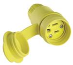 Eaton 15 AMP YLW CONNECTOR BODY IND WATERTIGHT ELASTOM Product Image