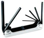 Klein Tools Metric Hex-Key Fold-Ups, 7 per fold-up, Hex Tip, Metric Product Image