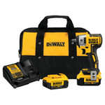 DeWalt 20V MAX* XR Compact Cordless Impact Wrench Kit, 3/8 in Drive, 2,800 RPM Product Image