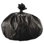 Boardwalk Super Extra-Heavy Repro Can Liner, 43x47, 1.6 Mil, 56gal, Black, 10 Bags/Roll Product Image