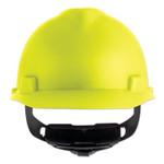 MSA V-Gard Cap-Style Hard Hat with Fas-Trac III Suspension, Matte, Hi-Viz Yellow Product Image