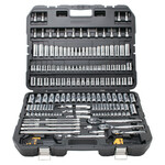 DeWalt 192 Piece Mechanics Tools Set, 1/2in; 1/4in; 3/8in Drive, 6 Point, Inch/Metric Product Image
