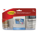 """Command Large Caddy, 4 lb Capacity, 8.5""""w, Clear Product Image"""