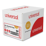 Universal 30% Recycled Copy Paper, 92 Bright, 20 lb, 8.5 x 11, White, 500 Sheets/Ream, 5 Reams/Carton Product Image