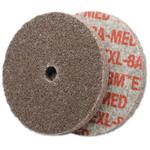 3M Scotch-Brite EXL Unitized Deburring Wheel,1X3/16, Med, 25100 rpm, Aluminum Oxide Product Image