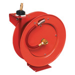 Lincoln Industrial Hose Reel for Air and Water Models 83753 and 83754, Series B, 3/8 in Hose ID, 50 ft Product Image