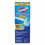 Clorox Disinfecting ToiletWand Refill Heads, 10/Pack, 6 Packs/Carton Product Image