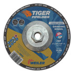 Weiler 6 in X 1/8 in Tiger Pipeliner, Z30T, Type 27, 5/8 in-11 Nut Product Image