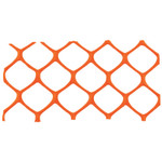 Cortina Mid-Grade Safety Fence, 4 ft x 50 ft, Polyethylene, Orange Product Image