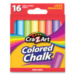 Cra-Z-Art Colored Chalk, Assorted Colors, 16/Pack Product Image