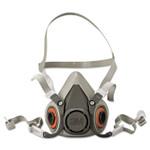 3M Half Facepiece Respirator 6000 Series, Reusable, Medium Product Image