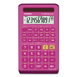 Casio FX-260 Solar II All-Purpose Scientific Calculator, 10-Digit LCD, Pink Product Image