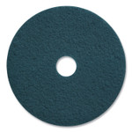 """Coastwide Professional Cleaning Floor Pads, 20"""" Diameter, Blue, 5/Carton Product Image"""