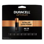Duracell Optimum Alkaline AA Batteries, 18/Pack Product Image