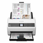 Epson DS-730N Network Color Document Scanner, 600 dpi Optical Resolution, 100-Sheet Duplex Auto Document Feeder Product Image