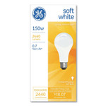 GE General Purpose A21 Incandescent SW Light Bulb, 150 W, Soft White Product Image